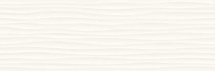 Стенни плочки Eclettica White Stuttura Wave 3D 40x120