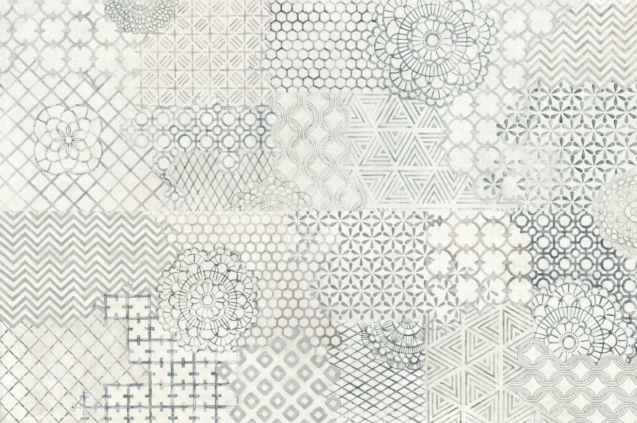 Декор Fresco Decoro Crochet Light/Pencil/Shadow 32,5x97,7