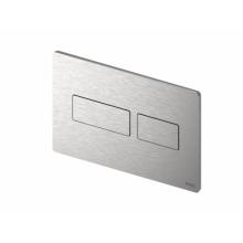 Активатор SOLID метален Brushed Stainless Steel с покритие против пръстови отпечатъци