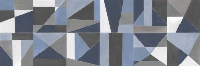 Стенни плочки Colorplay  Decoro Tiles White/Anthracite/Blue 30x90