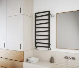 Лира за баня ZIG ZAG - цвят Metallic Grey