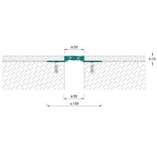 ARFEN AR 820-050 профил за дилатационни фуги за под