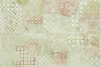 Декор Fresco Decoro Crochet Desert/Truffle 32,5x97,7