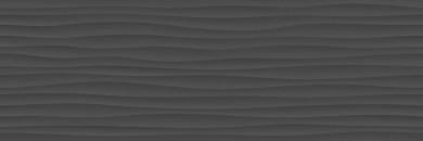 Стенни плочки Eclettica Anthracite Stuttura Wave 3D 40x120
