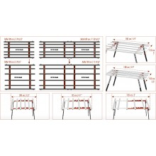 RAIMONDI 394MA PLUS Работна маса с регулируема ширина 100-150 см