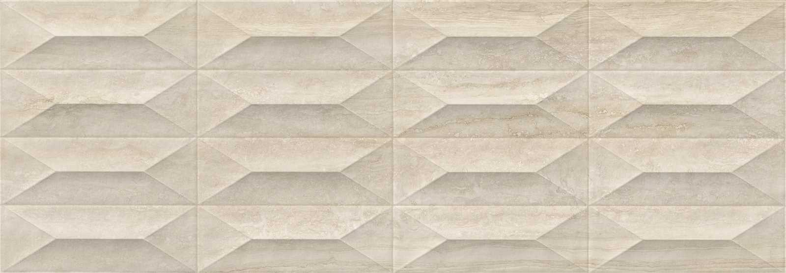 Стенни плочки Marbleplay Travertino Strutturato Gem 3D 30x90