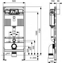 Структура за вграждане - TECE Германия