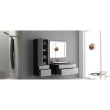 Окачен шкаф 70см с плот с интегрирана мивка GLORIA