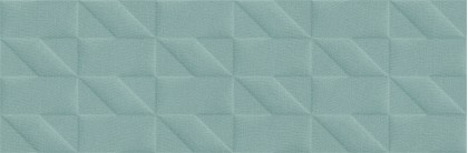 Стенни плочки Outfit Turquoise Struttura Tetris 3D 25x76