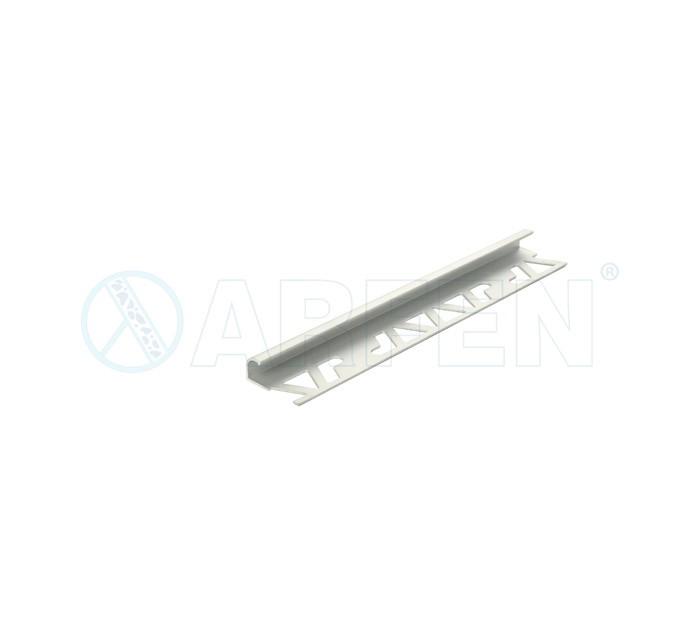 SB03 BORD 10 мм, алуминиев ъглов завършващ профил