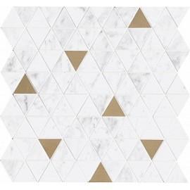 Декор Allmarble Wall Altissimo Mosaico Tria Satin 40x43