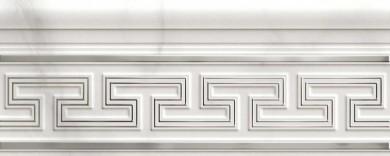 Фриз Marbleplay Listello Classic White 12x30