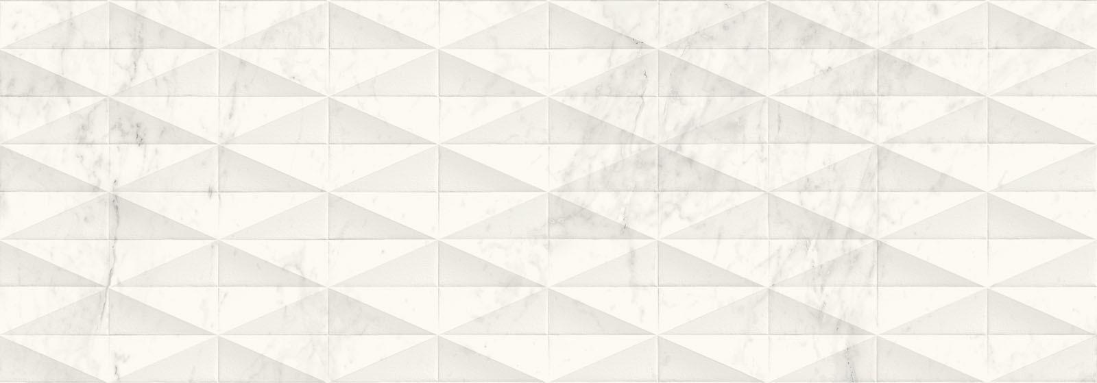 Стенни плочки Allmarble Wall Altissimo Struttura Pave 3D Satin 40x120