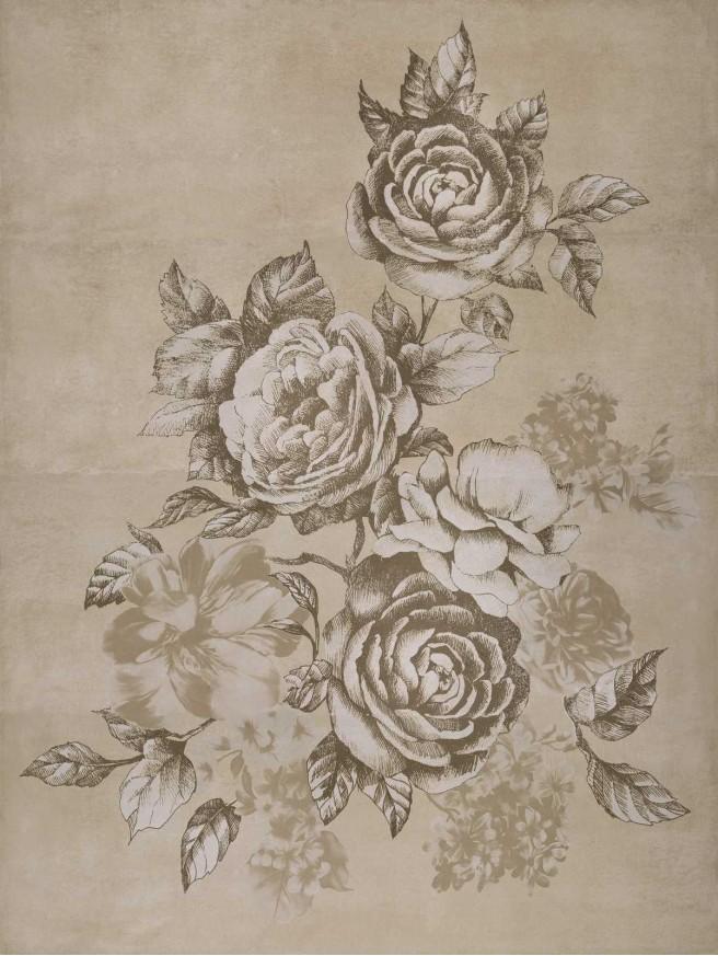 Декор Fresco Decoro Bloom Truffle C4 130x97,7