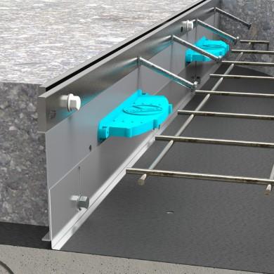 профил за дилатационна фуга за бетонова настилка
