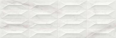 Стенни плочки Marbleplay White Struttura Gem 30x90