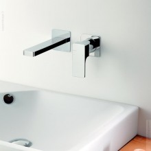 Смесител за мивка вграден от стената Glitter - Ritmonio