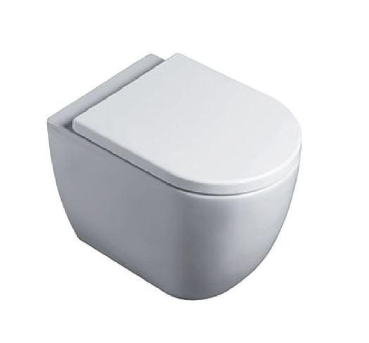 Стояща тоалетна чиния CATALANO SFERA с капак плавно затваряне 52x32