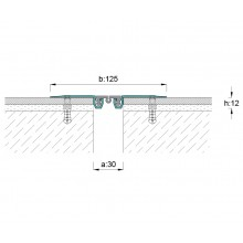ARFEN AR152-030 профил за дилатационни фуги за под