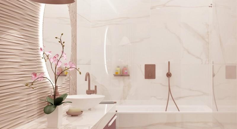 3D проект за баня