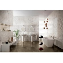 Стенни плочки Allmarble Wall Golden White Lux 40x120