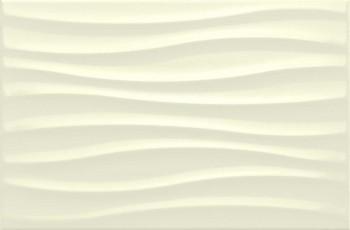 Стенни плочки Chroma Ivory Strutture Tide 3D 25x38