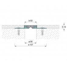 ARFEN AR105-050 профил за дилатационни фуги за под