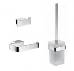 Комплект аксесоари за баня LOFT - хром
