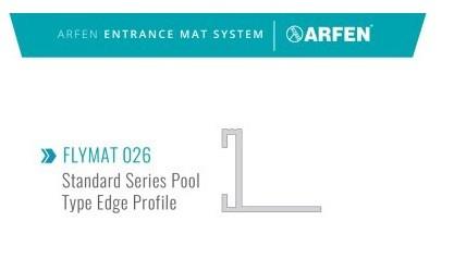 FLYMAT 026 алуминиева рамка за изтривалки 22мм