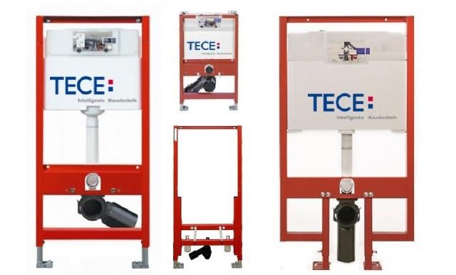 Казанчета за вграждане TECE – елегантно решение за всяко санитарно помещение