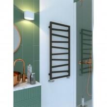 Лира за баня ZIGZAG с терморегулатор ONE - цвят Metallic Black