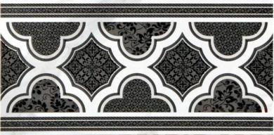 Фриз Elegance Statuario/Altissimo Listello Barocco 15x30