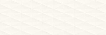 Стенни плочки Eclettica White Stuttura Diamond 3D 40x120