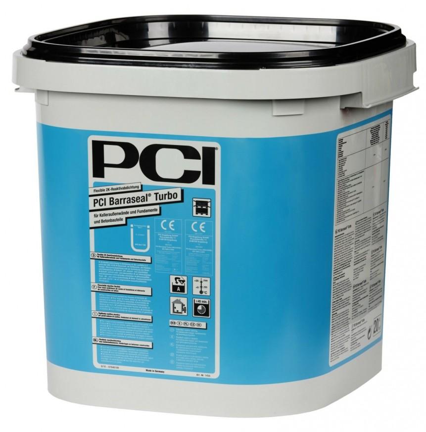Еластична двукомпонентна хидроизолация PCI Barraseal Turbo