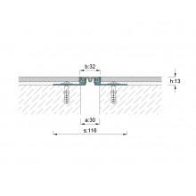 ARFEN AR100-030 профил за дилатационни фуги за под