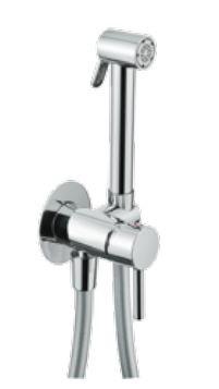Интимен душ за вграждане с кръгли форми DOHA - FLEXDOCCIA