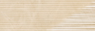 Стенни плочки Evolutionmarble Golden Cream Struttura Infinity 3D 32,5x97,7