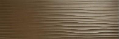 Стенни плочки Eclettica Bronze Stuttura Wave 3D 40x120