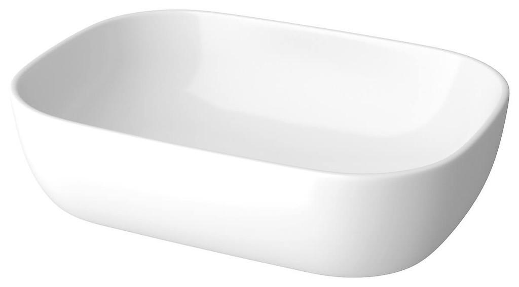 Мивка MODUO тип КУПА за плот - правоъгълна с овални линии