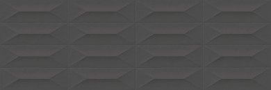 Стенни плочки Colorplay Anthracite Strutturata Cabochon 3D 30x90