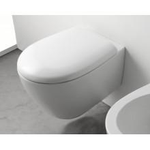 Окачена тоалетна чиния BOWL+ БЕЗ РЪБОВЕ с капак плавно затваряне