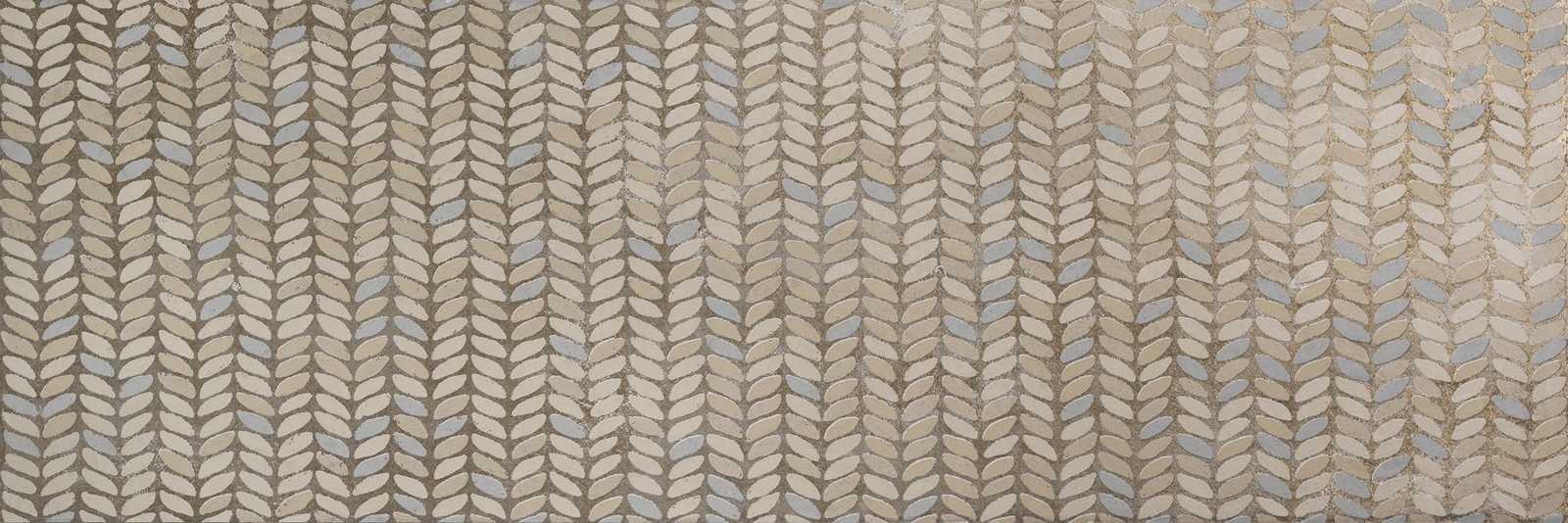 Декор Fresco Decoro Leaves Desert/Truffle 32,5x97,7