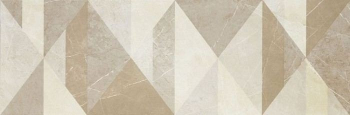Декор Evolutionmarble Tangram Golden Cream 32,5x97,7