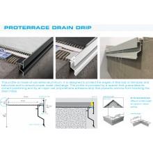 PFDPP водооткапващ водобранен профил за тераси и балкони