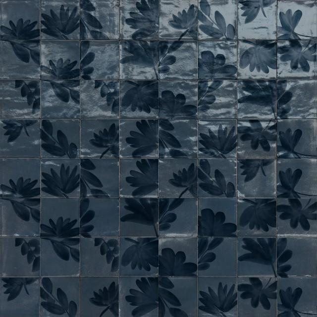 Гранитогрес Decoro Rice Blossom Blu Lux 15x15