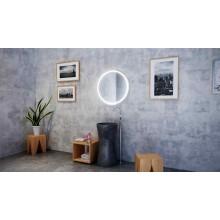 Огледало CERCHIO R 70 с LED осветление, нагревател и димер