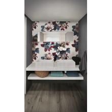 Декор Eclettica Peony White/Purple/Anthracite/Blue/Rose 120x120