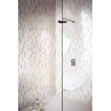 Декор Allmarble Wall Altissimo Mosaico Barcode Lux 40x40