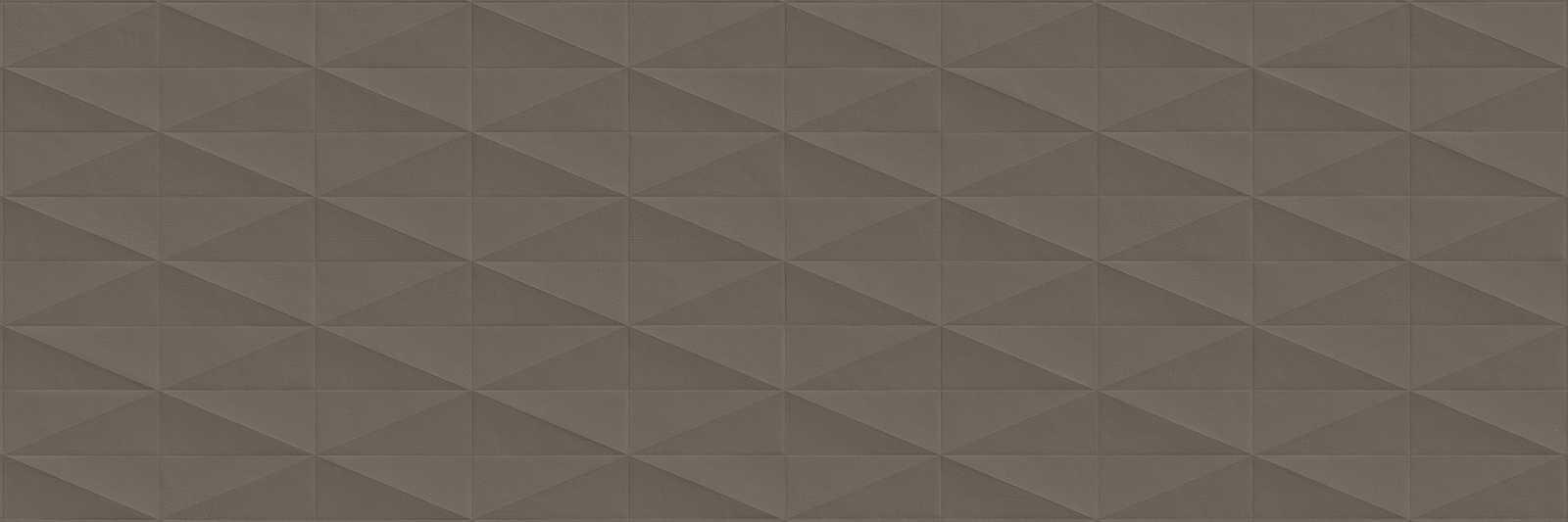 Стенни плочки Eclettica Taupe Stuttura Diamond 3D 40x120