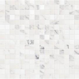 Декор Allmarble Wall Statuario Mosaico Satin 40x40